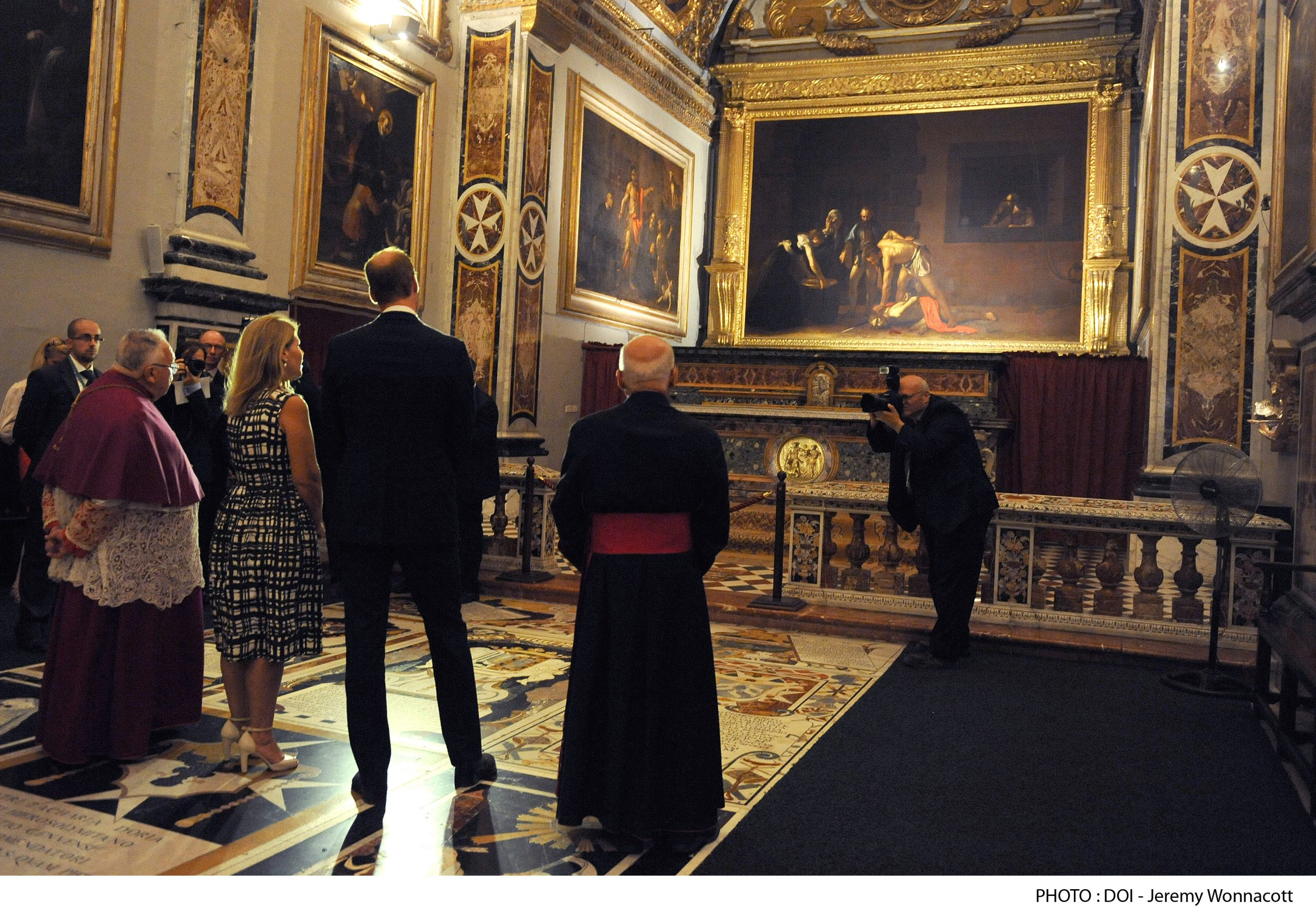Caravaggio masterpieces in Malta
