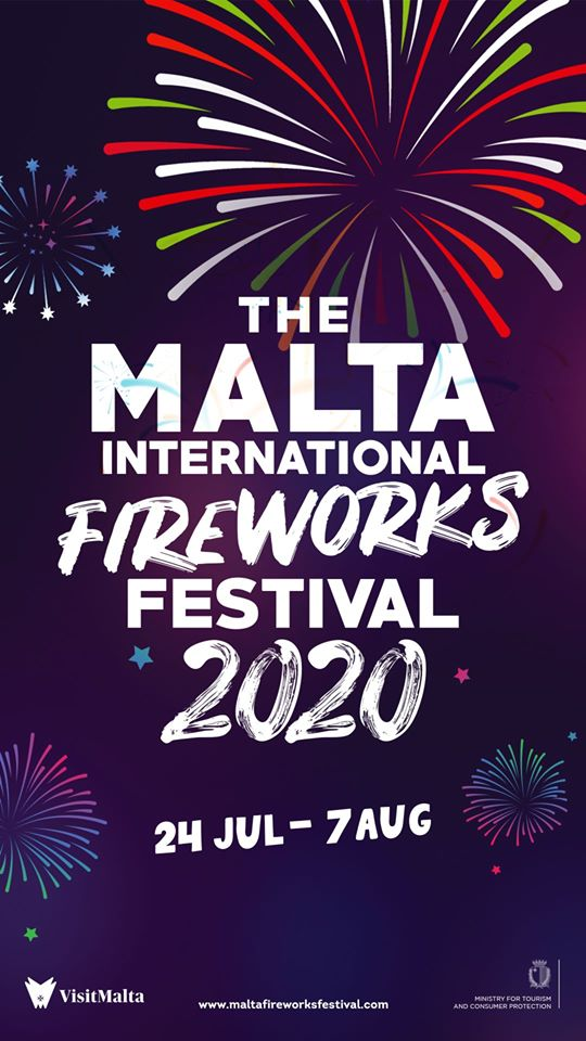 The Malta International Fireworks Festival is happening!