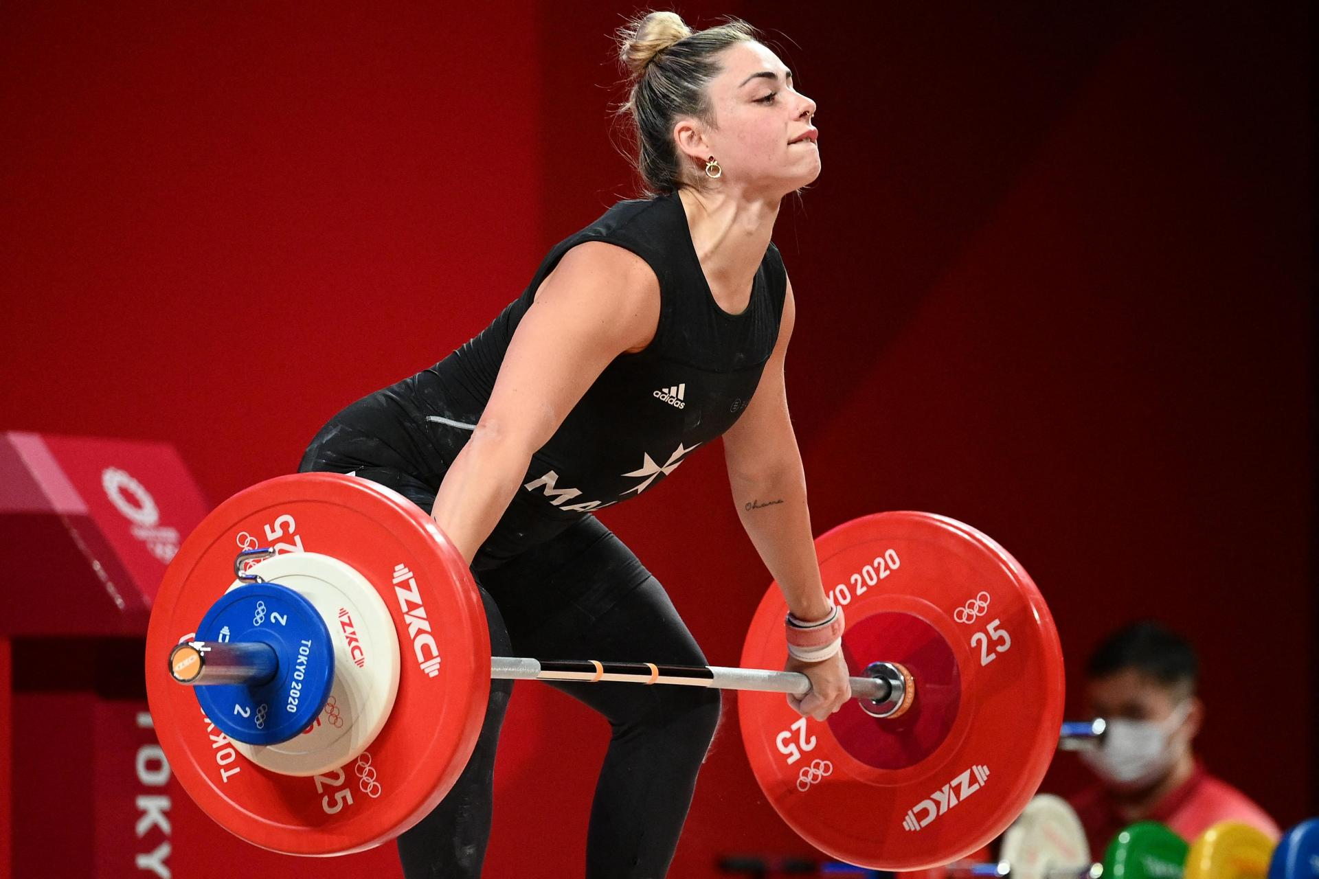 Malta's First-Ever Female Olympic Weightlifter, Finishes Third In Group B