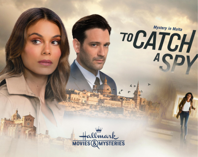 'To Catch a Spy', Hallmark's mystery film based in 'beautiful Malta' is now out